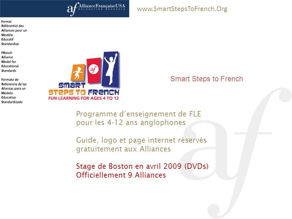 Programme d'enseignement de FLE pour les 4-12 ans anglophones