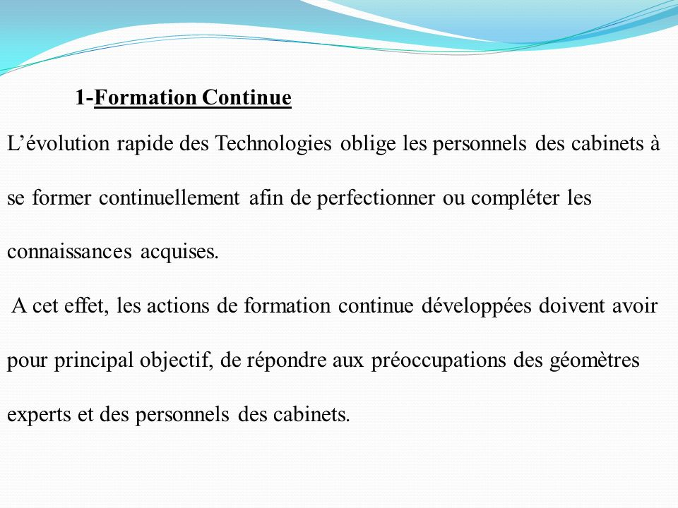 1-Formation Continue