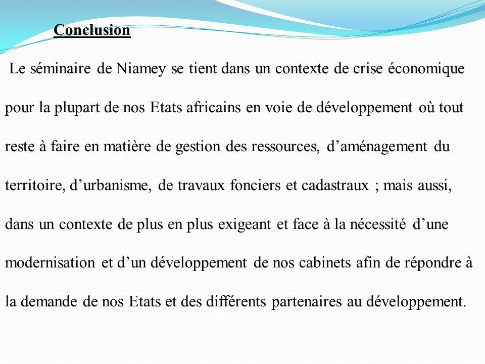 Etat des lieux des formations de g om tres et de leurs - Liste des cabinets d expertise comptable au senegal ...