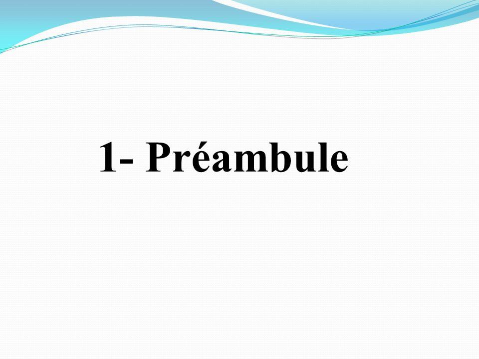 1- Préambule