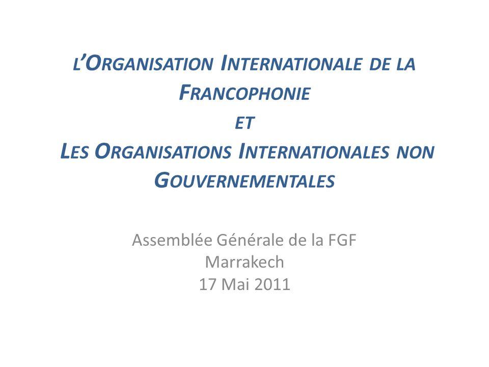Assemblée Générale de la FGF Marrakech 17 Mai 2011