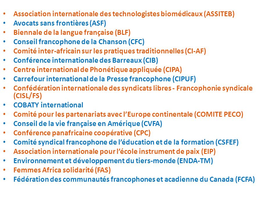 Association internationale des technologistes biomédicaux (ASSITEB)