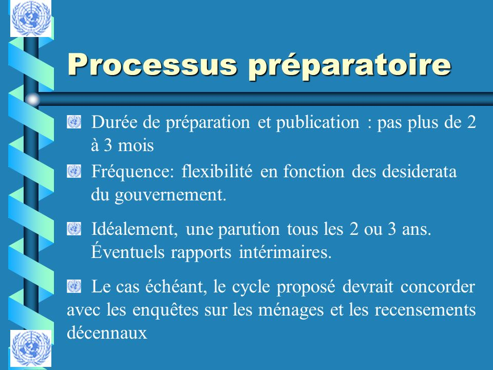 Processus préparatoire