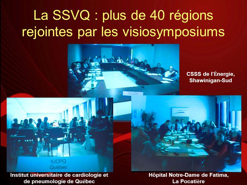 La SSVQ : plus de 40 régions rejointes par les visiosymposiums