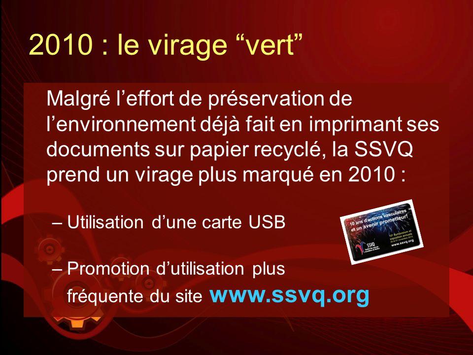 2010 : le virage vert