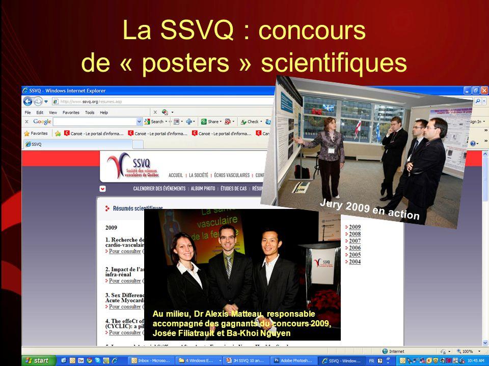 La SSVQ : concours de « posters » scientifiques