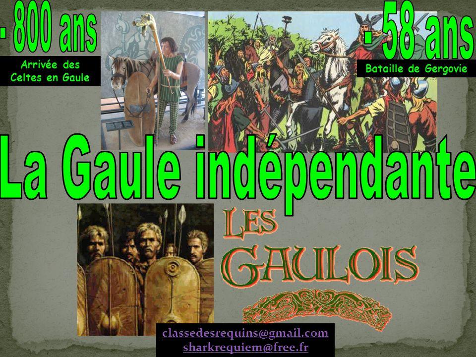 Arrivée des Celtes en Gaule