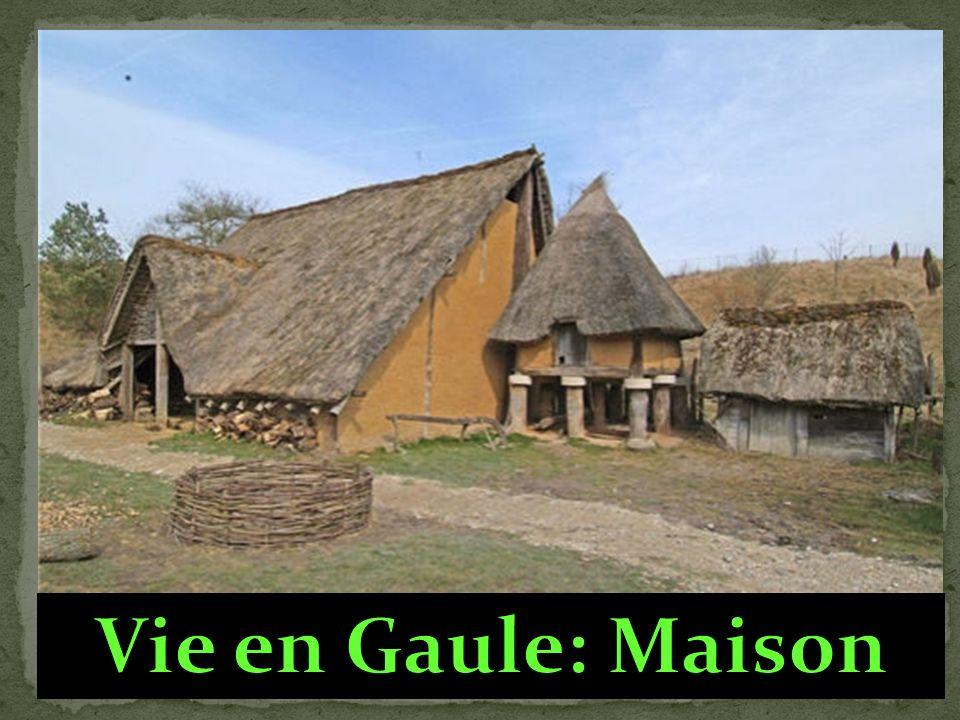 Vie en Gaule: Maison