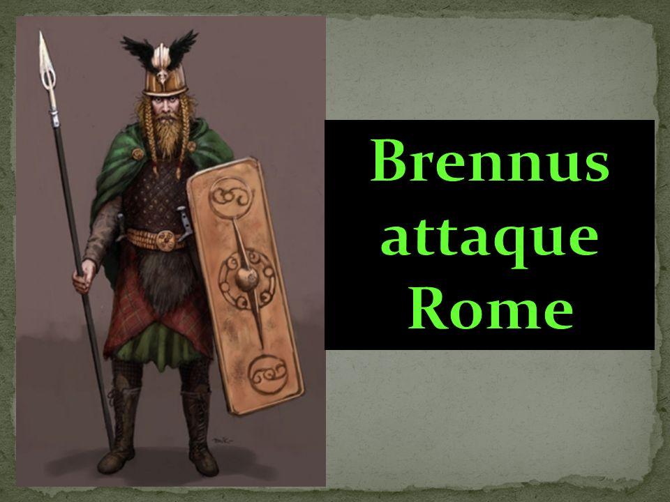 Brennus attaque Rome