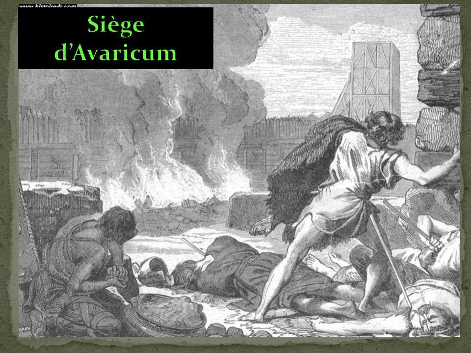 Siège d'Avaricum