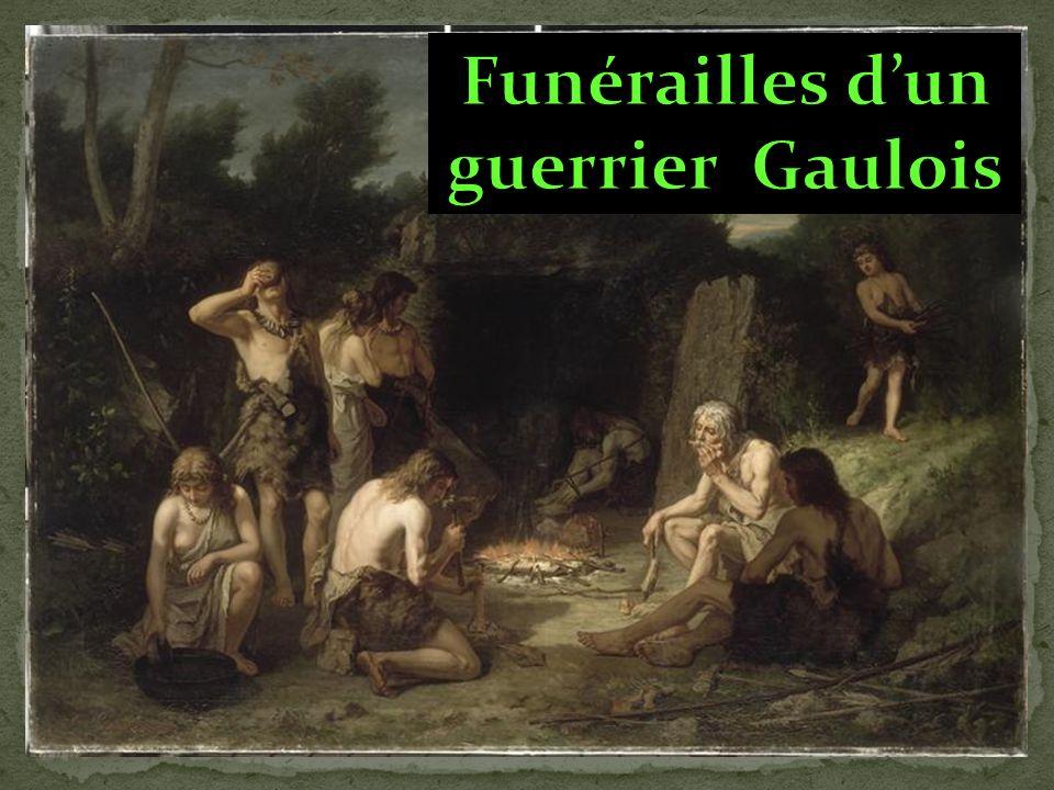 Funérailles d'un guerrier Gaulois