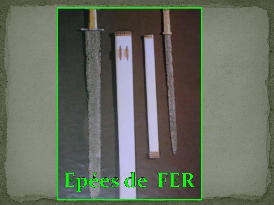 Epées de FER