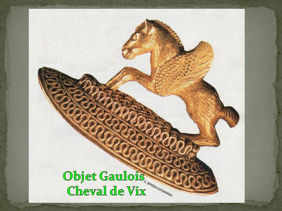 Objet Gaulois Cheval de Vix