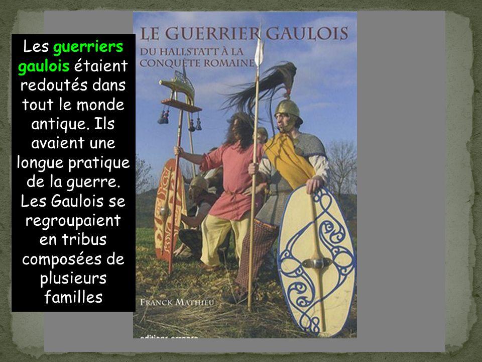 Les guerriers gaulois étaient redoutés dans tout le monde antique