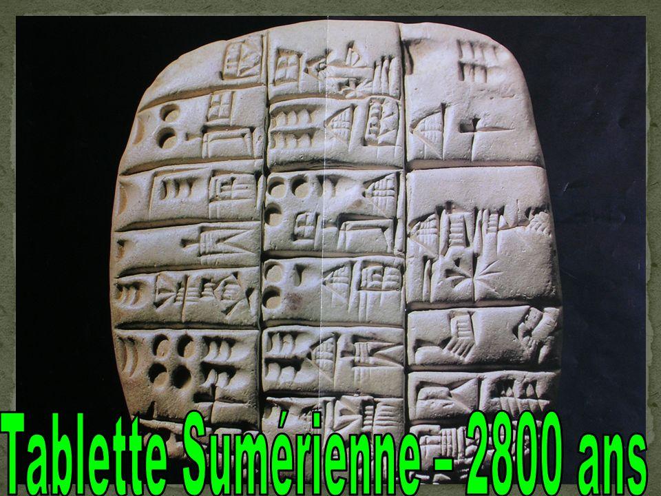 Tablette Sumérienne – 2800 ans