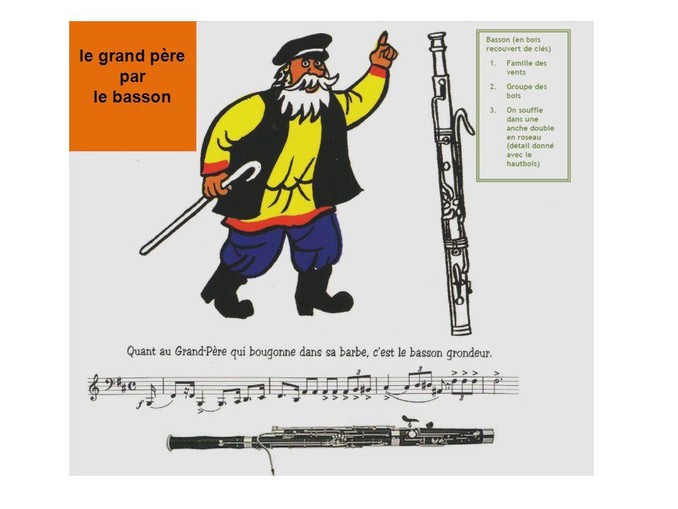 le grand père par le basson