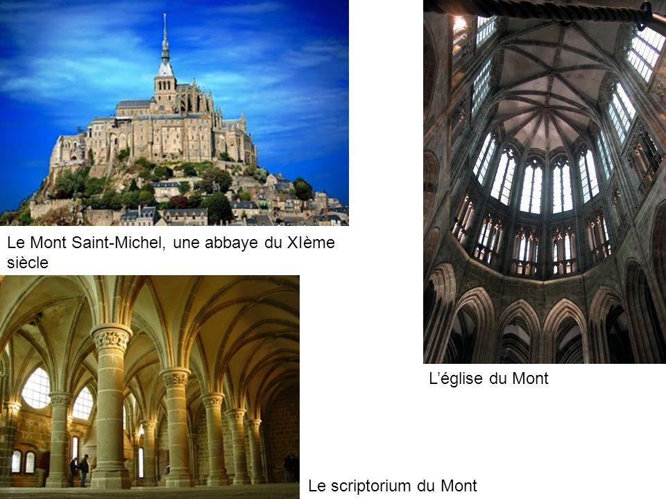 Le Mont Saint-Michel, une abbaye du XIème siècle