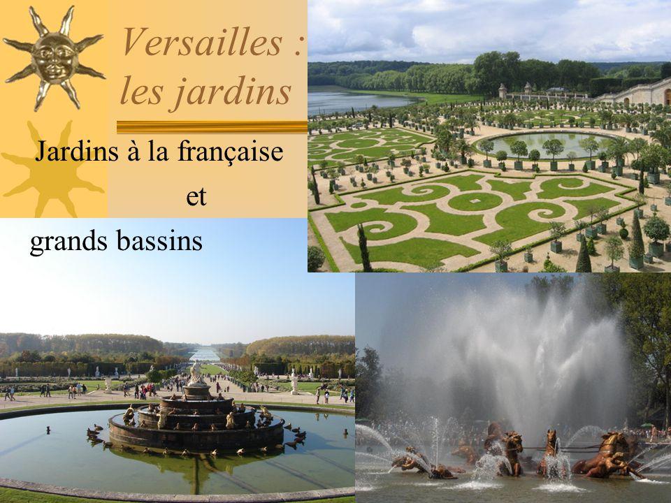 Versailles : les jardins