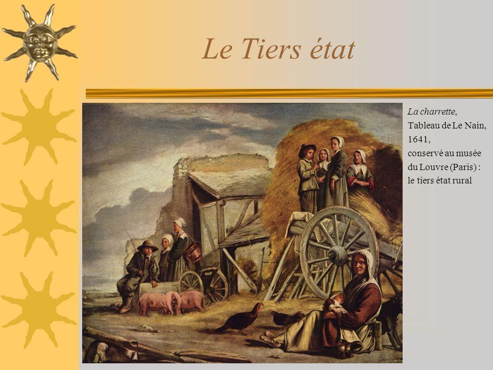 Le Tiers état La charrette, Tableau de Le Nain, 1641,