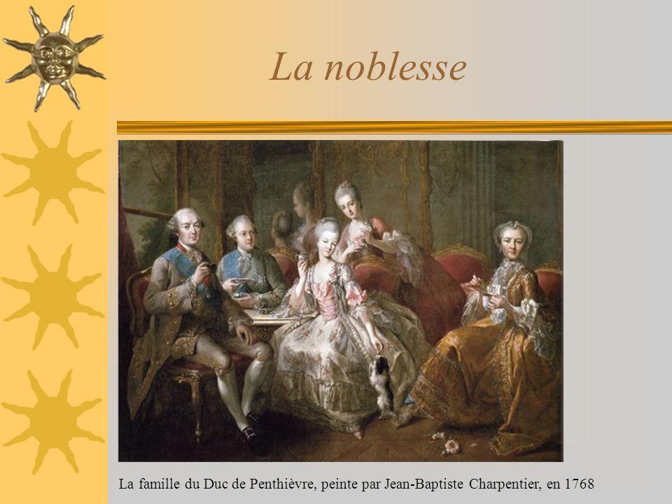 La noblesse La famille du Duc de Penthièvre, peinte par Jean-Baptiste Charpentier, en 1768