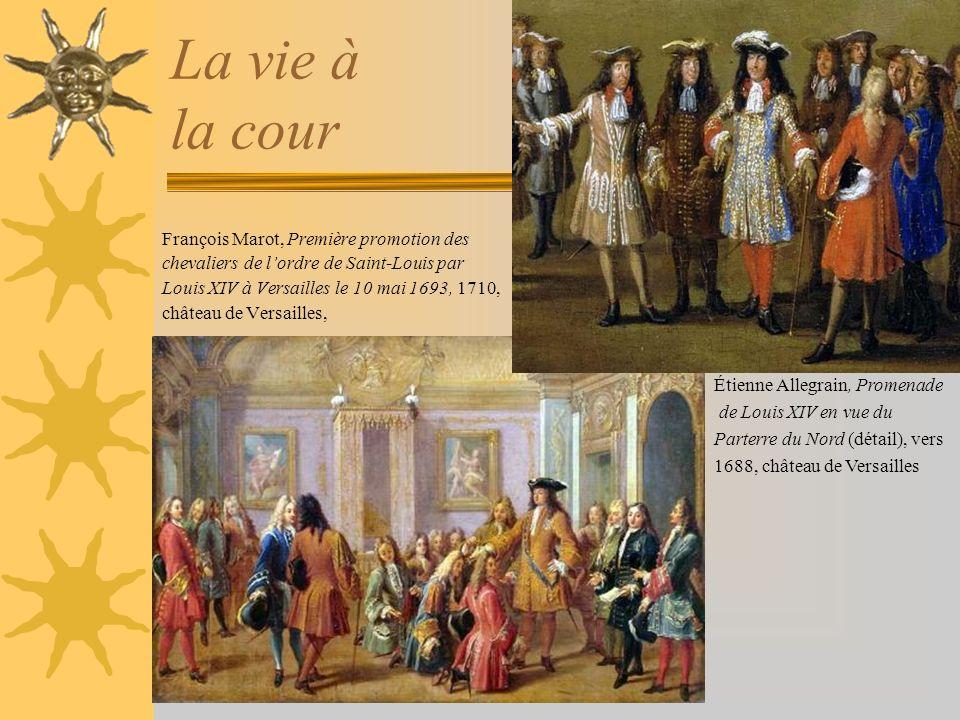 La vie à la cour François Marot, Première promotion des