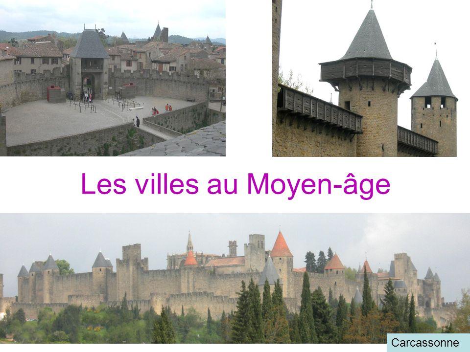 Les villes au Moyen-âge
