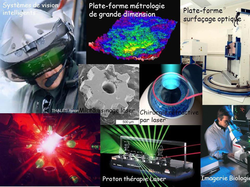 Quelques exemples Plate-forme métrologie de grande dimension