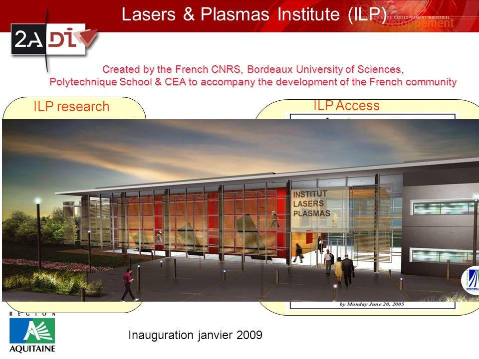 Lasers & Plasmas Institute (ILP)