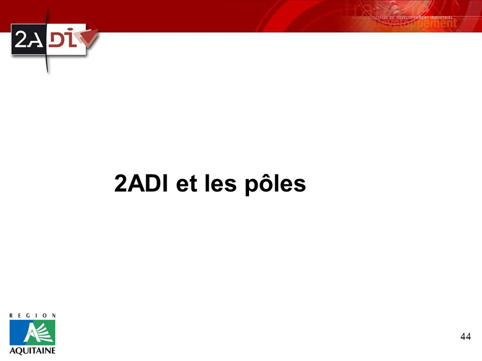 2ADI et les pôles