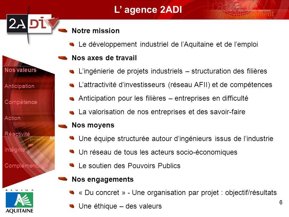 L' agence 2ADI Notre mission