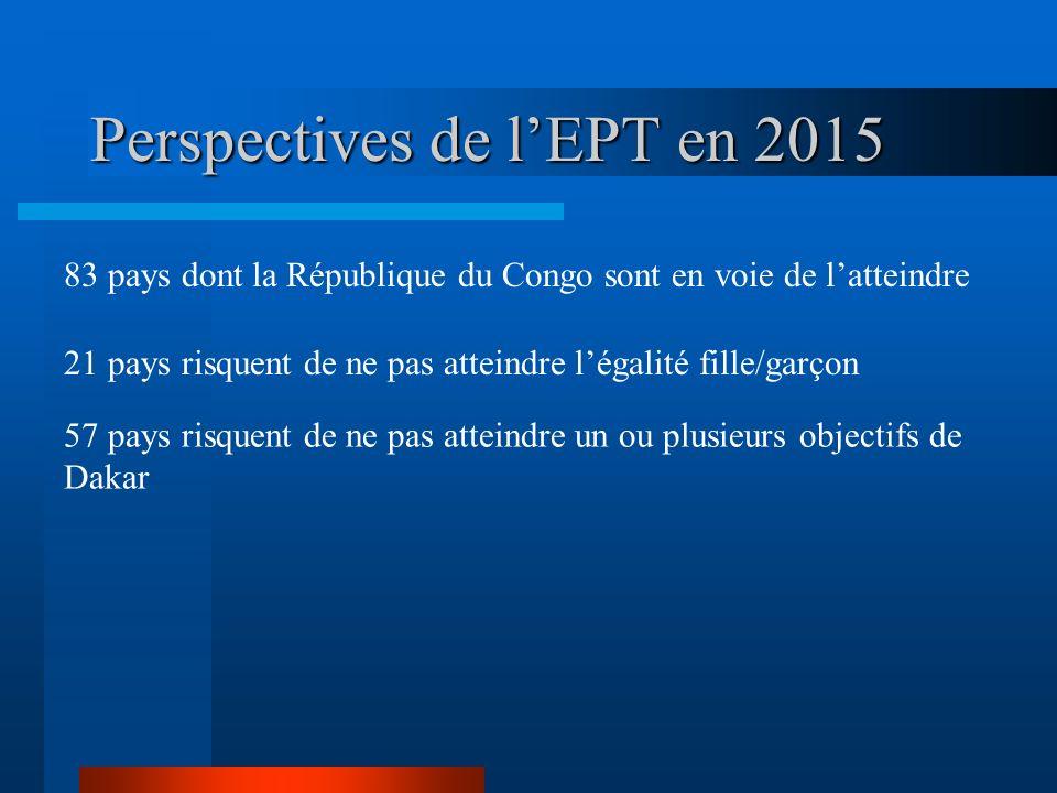 Perspectives de l'EPT en 2015
