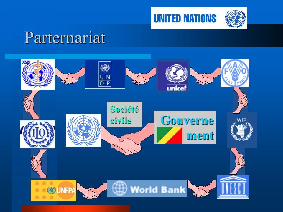 Parternariat Société civile Gouvernement