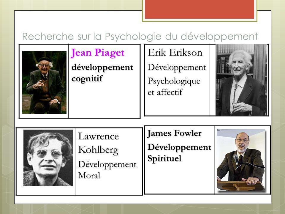 Recherche sur la Psychologie du développement