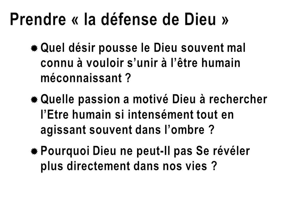 Prendre « la défense de Dieu »