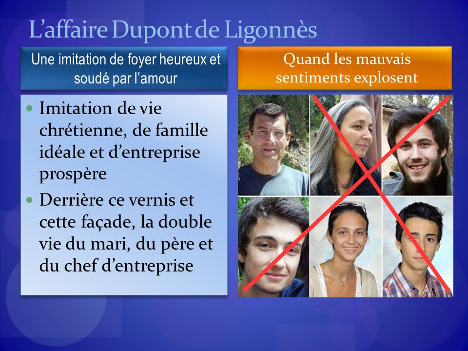 L'affaire Dupont de Ligonnès