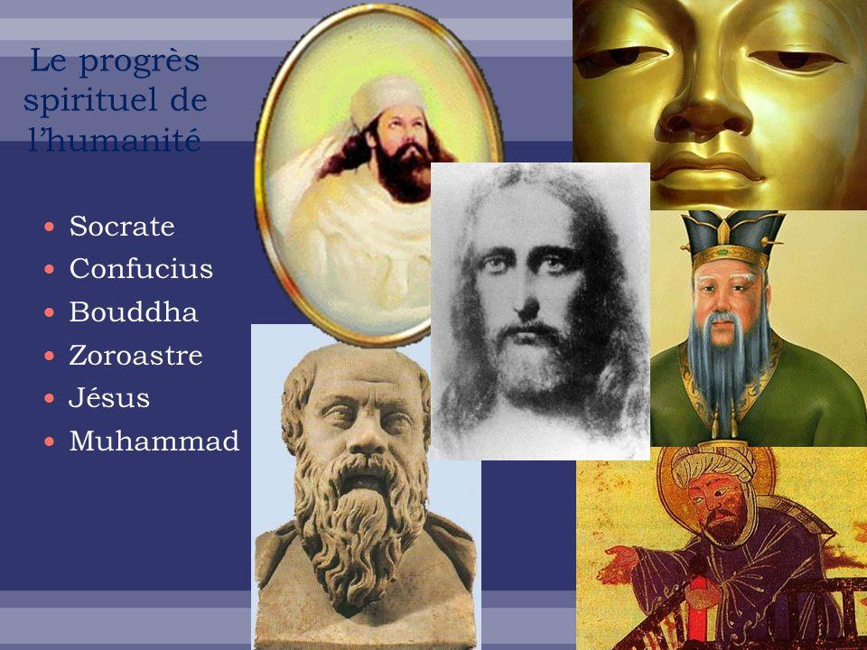 Le progrès spirituel de l'humanité