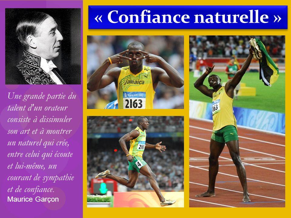 « Confiance naturelle »
