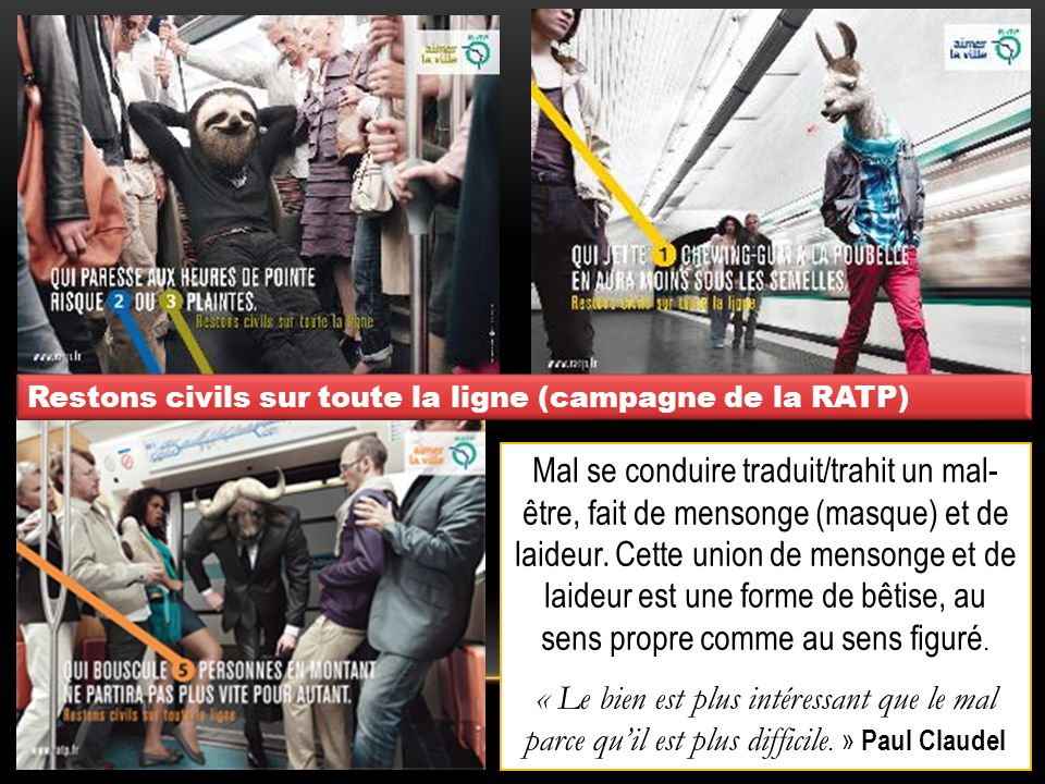 Restons civils sur toute la ligne (campagne de la RATP)