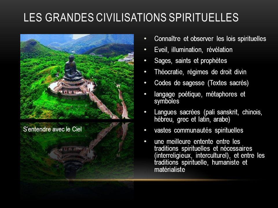 Les grandes civilisations spirituelles