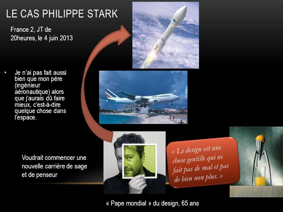 Le cas Philippe Stark France 2, JT de 20heures, le 4 juin 2013.