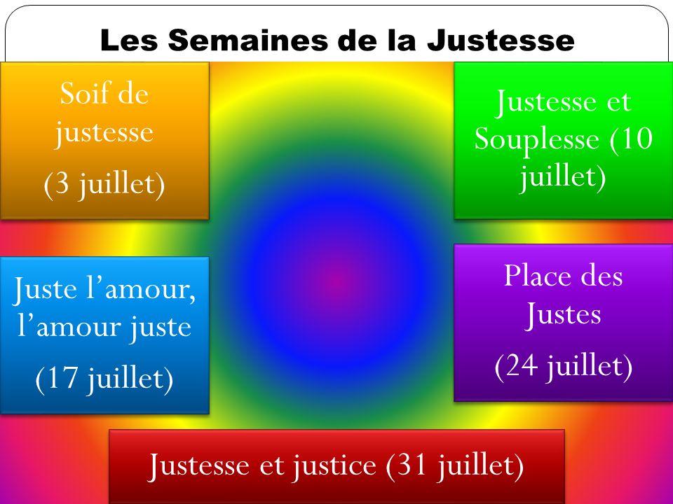 Justesse et Souplesse (10 juillet)