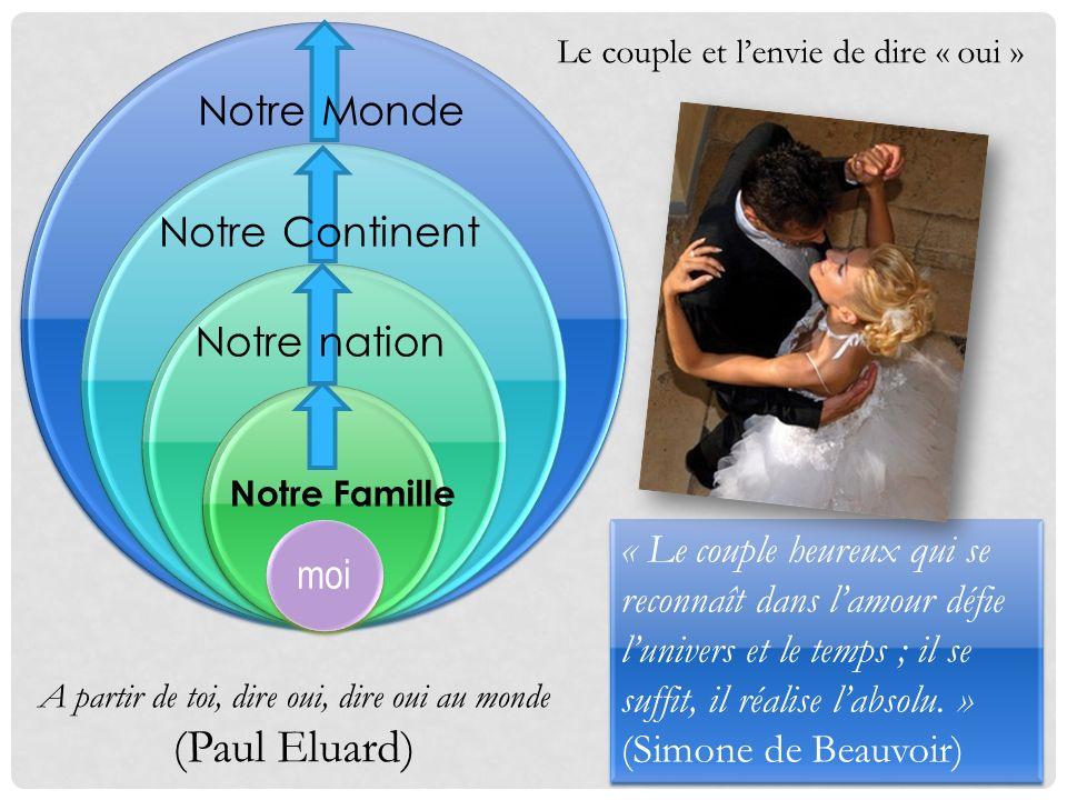 (Paul Eluard) Notre Monde Notre Continent Notre nation