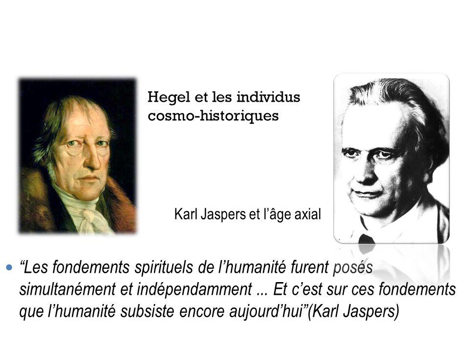 Hegel et les individus cosmo-historiques