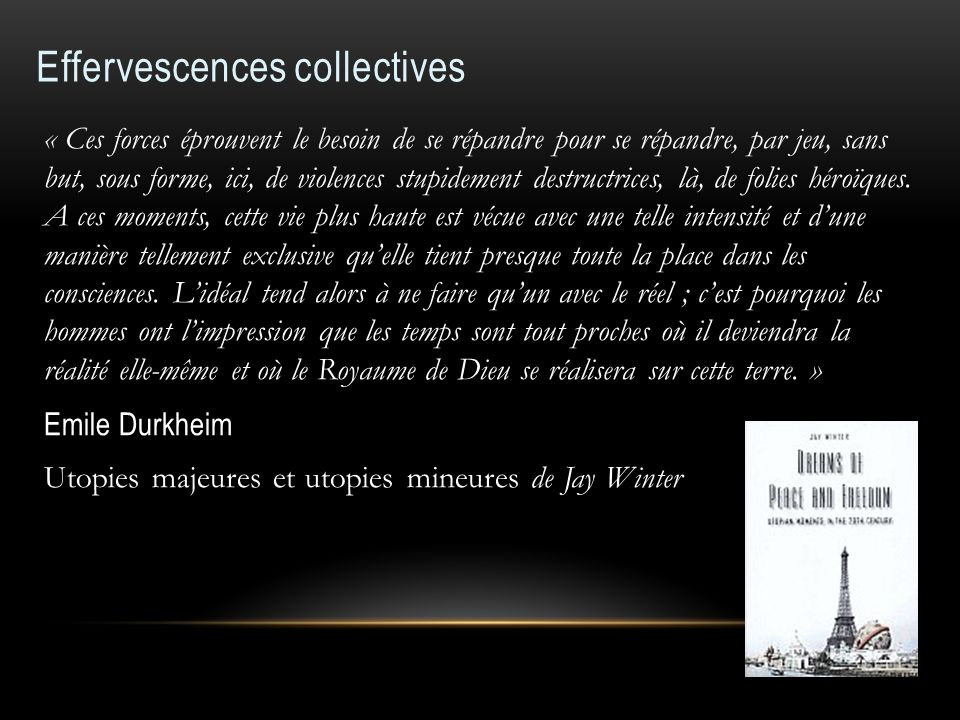 Effervescences collectives
