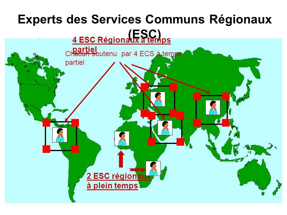 Experts des Services Communs Régionaux (ESC)