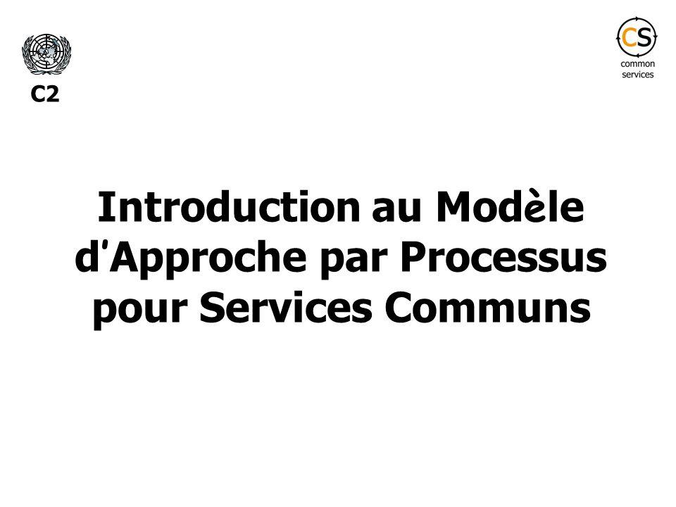 Introduction au Modèle d'Approche par Processus pour Services Communs