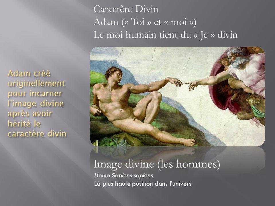 lmage divine (les hommes)
