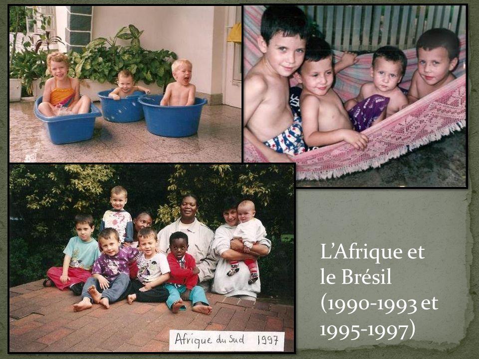 L'Afrique et le Brésil (1990-1993 et 1995-1997)