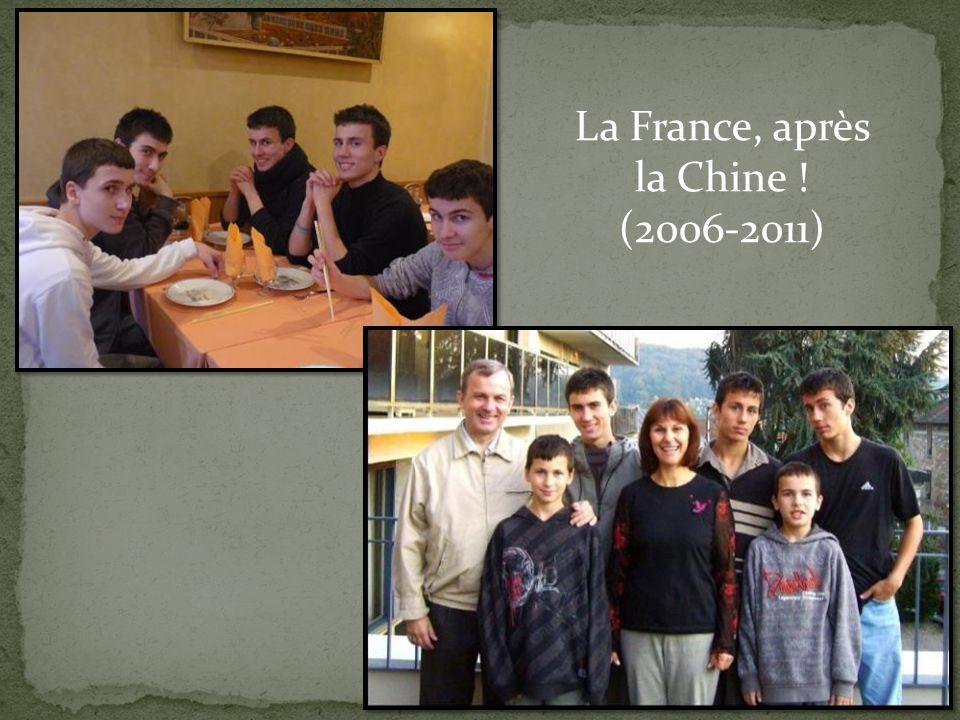 La France, après la Chine !