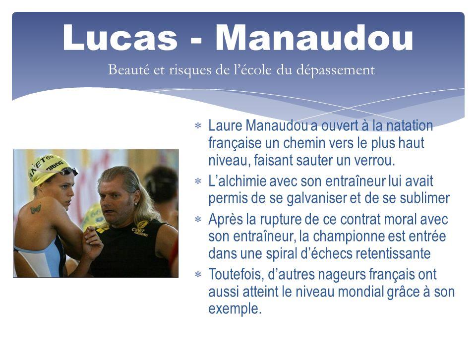 Lucas - Manaudou Beauté et risques de l'école du dépassement